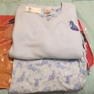 Disney winter scene pajamas